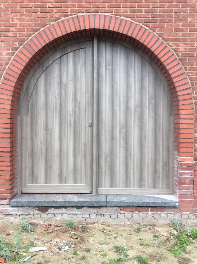 PVC met houtnerfstructuur